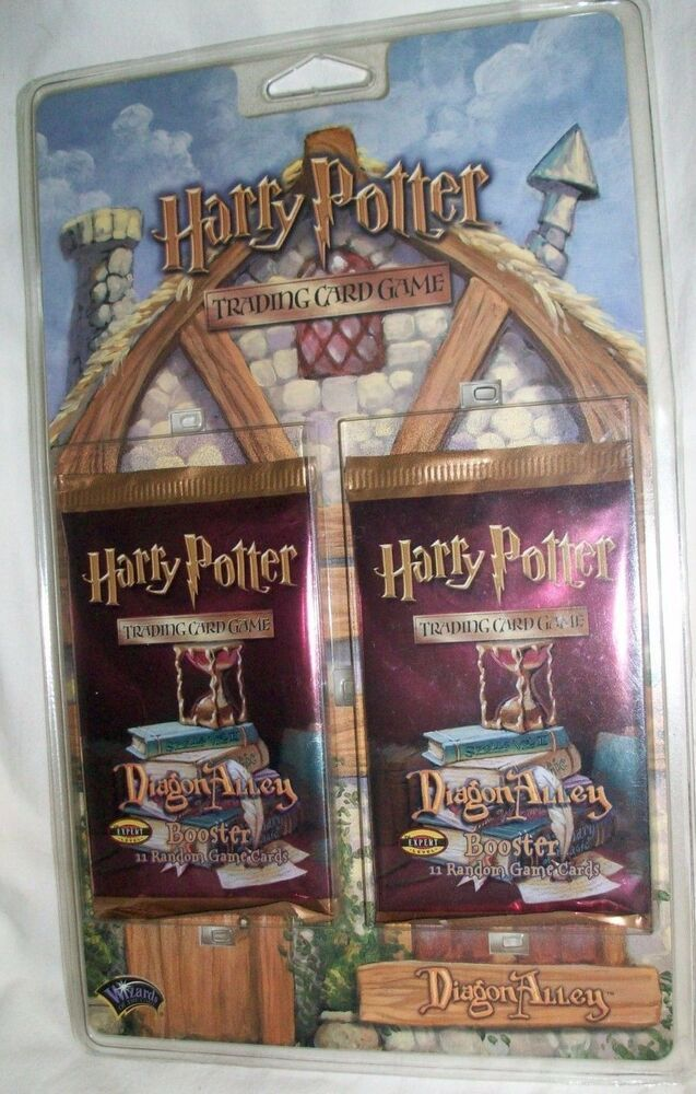 Sealed Grow Room Design: HARRY POTTER Diagon Alley TRADING CARD GAME 2 Sealed