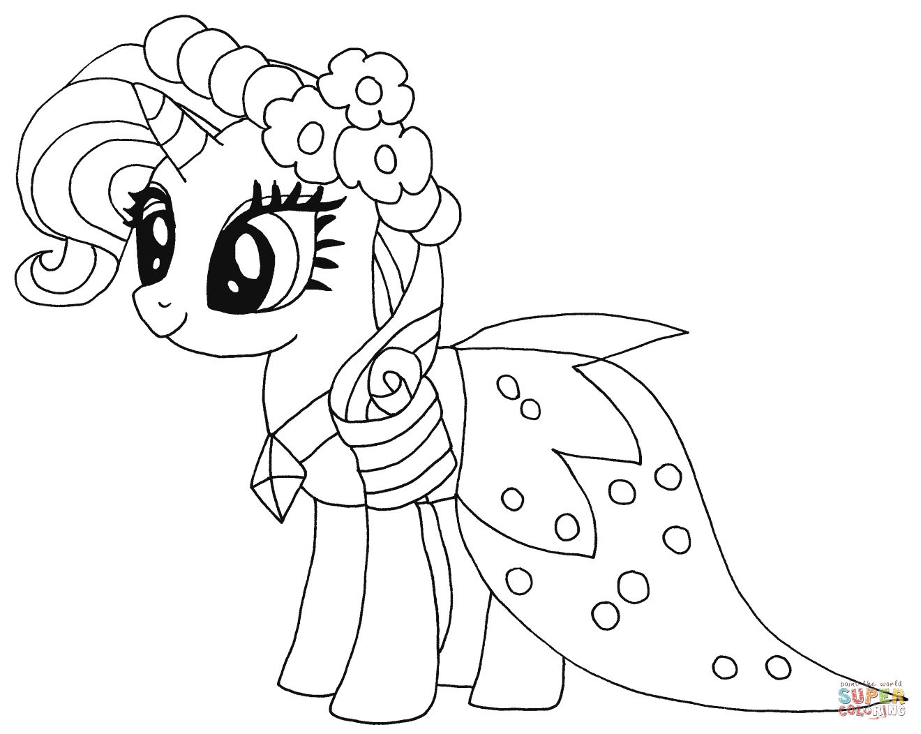 My Little Pony Coloring Pages My Little Pony Coloring Pages Free Coloring Pages Albanysinsanity Com My Little Pony Coloring Disney Princess Coloring Pages My Little Pony Rarity