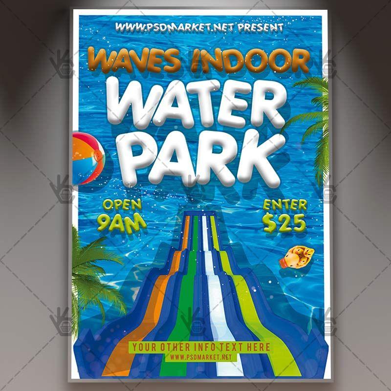 Download Water Park Flyer Psd Template Psd Templates Flyer