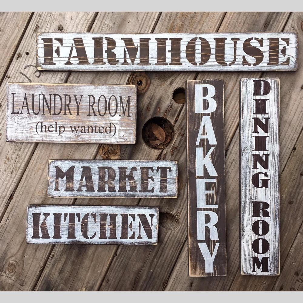 Laundry Room Help Wanted Rustic Farmhouse Style Handmade Wood Sign