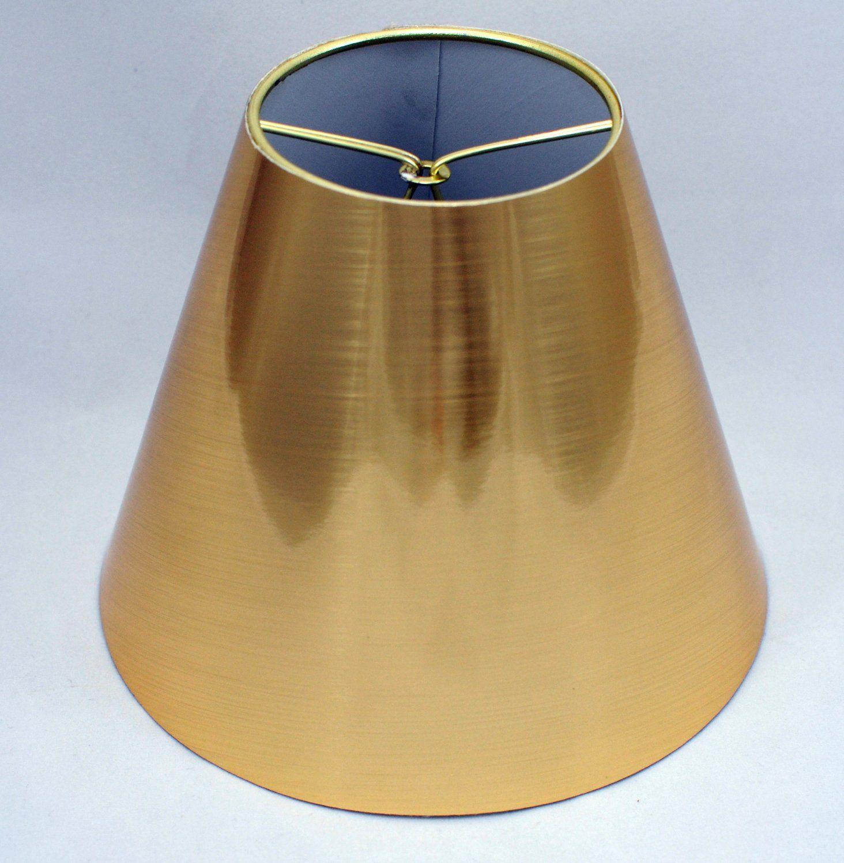 Amazon Urbanest Gold Metallic Chandelier Lamp Shades