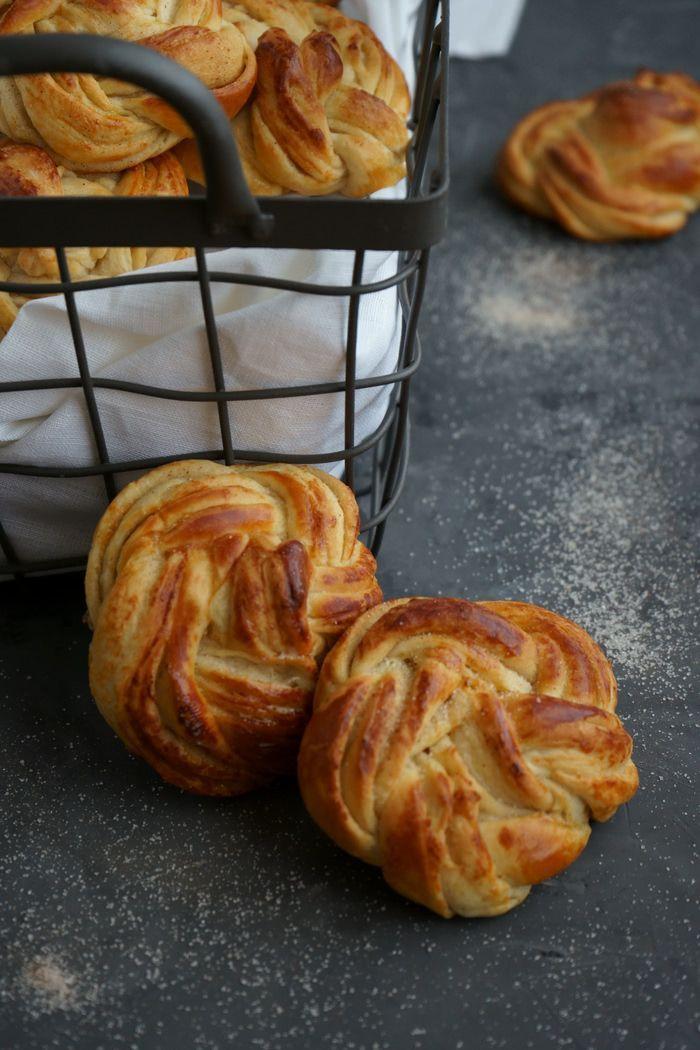 Zimt-Joghurtkringel aus fluffigem Hefeteig - Lissi's Passion
