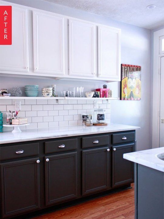 Before After Dour Dated Kitchen Gets A New Lease On Life Budget Kitchen Remodel Kitchen Remodel Small Kitchen Design