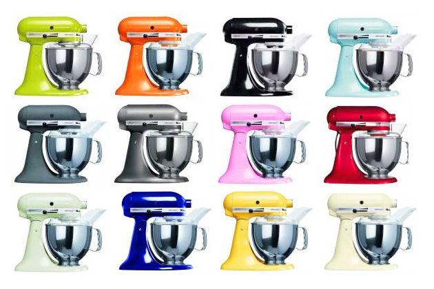 kitchenaid artisan färger
