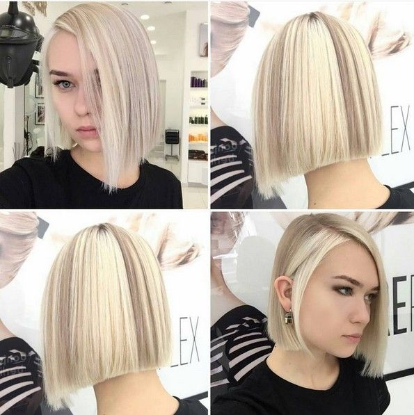 20 Trendy Ways To Style A Blonde Bob Popular Haircuts Blonde Bob Haircut Blonde Bobs Bobs Haircuts