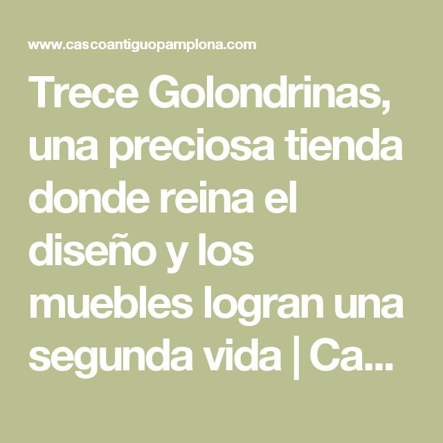 Trece Golondrinas, una preciosa tienda donde reina el diseño y los ...