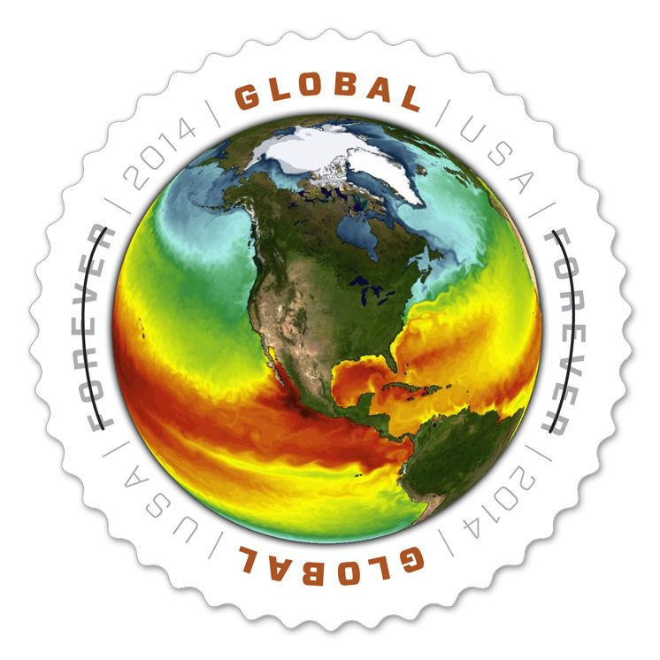 Usps New 1 15 Global Sea Surface Forever Stamp Sheet Of 10