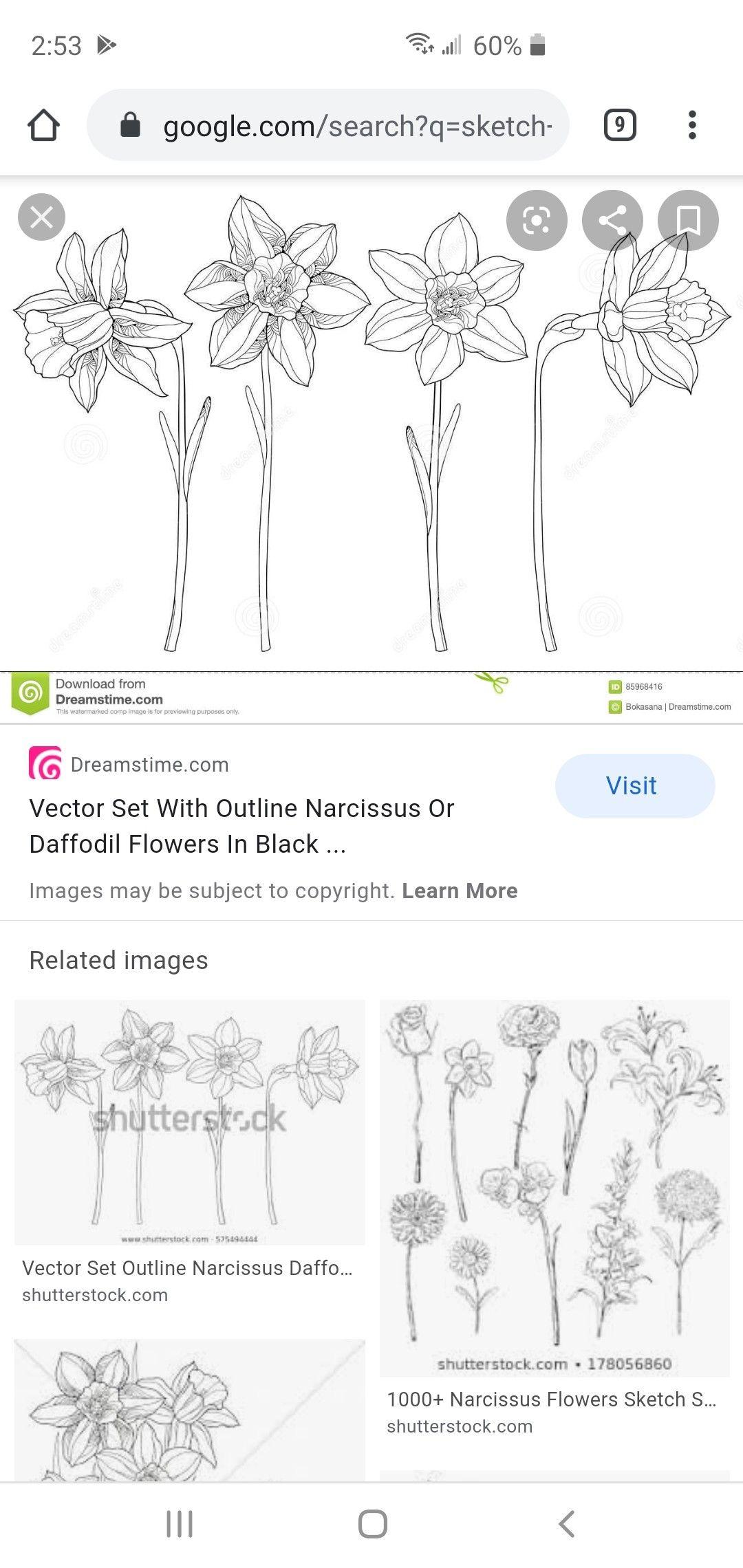 Tattoo by Becky Davis in 2020 Daffodils, Tattoos
