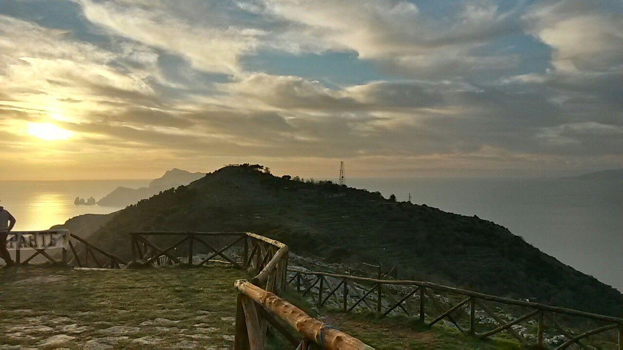 Monte San Costanzo - Massa Lubrense, Napoli The last sunset of 2016