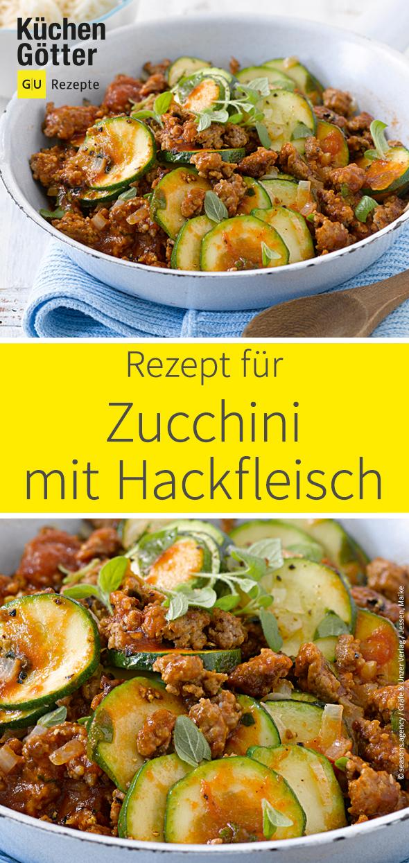 Rezepte mit hackfleisch zucchini