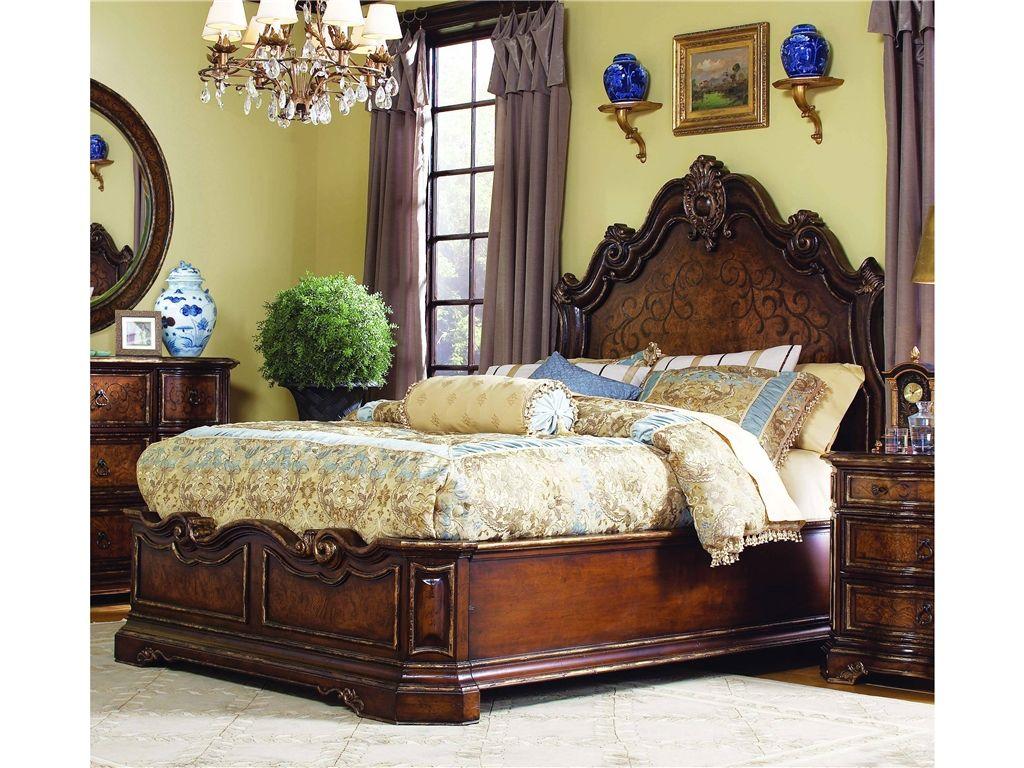 Hooker Furniture Bedroom Beladora California King Platform Bed