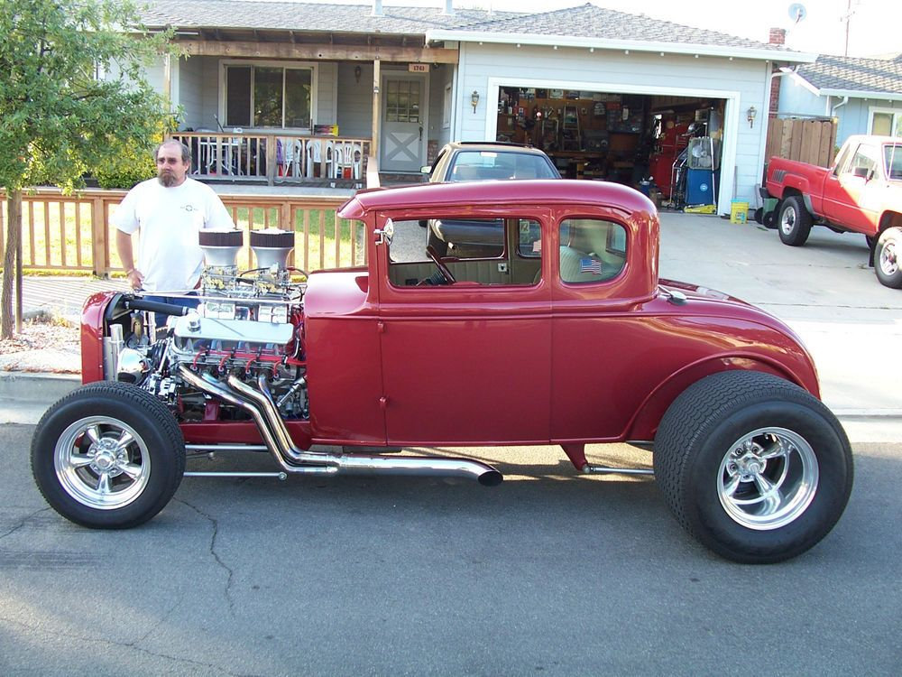 1931 Ford Model A 5 Window Coupe Street Rod. ☆。☆。JpM ...