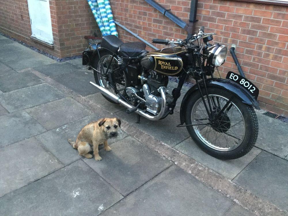 Ebay Royal Enfield Vintage 1946 Model C 350cc Sidevalve Has Been Stored Since Rebuild Motorcycles Biker Vintage Model