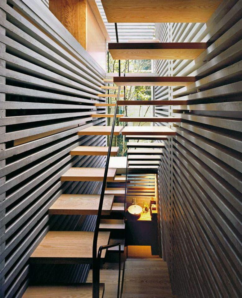 The House of Laminated Layers by Architect Hiroaki Ohtani ...