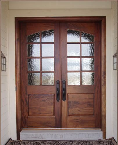 Two Pine 1 3 8 Thick 18x80 Eight Lite French Doors Prehung On 4 5 8 Jambs To Make A Center Swing Doub French Doors Interior French Doors French Doors Exterior