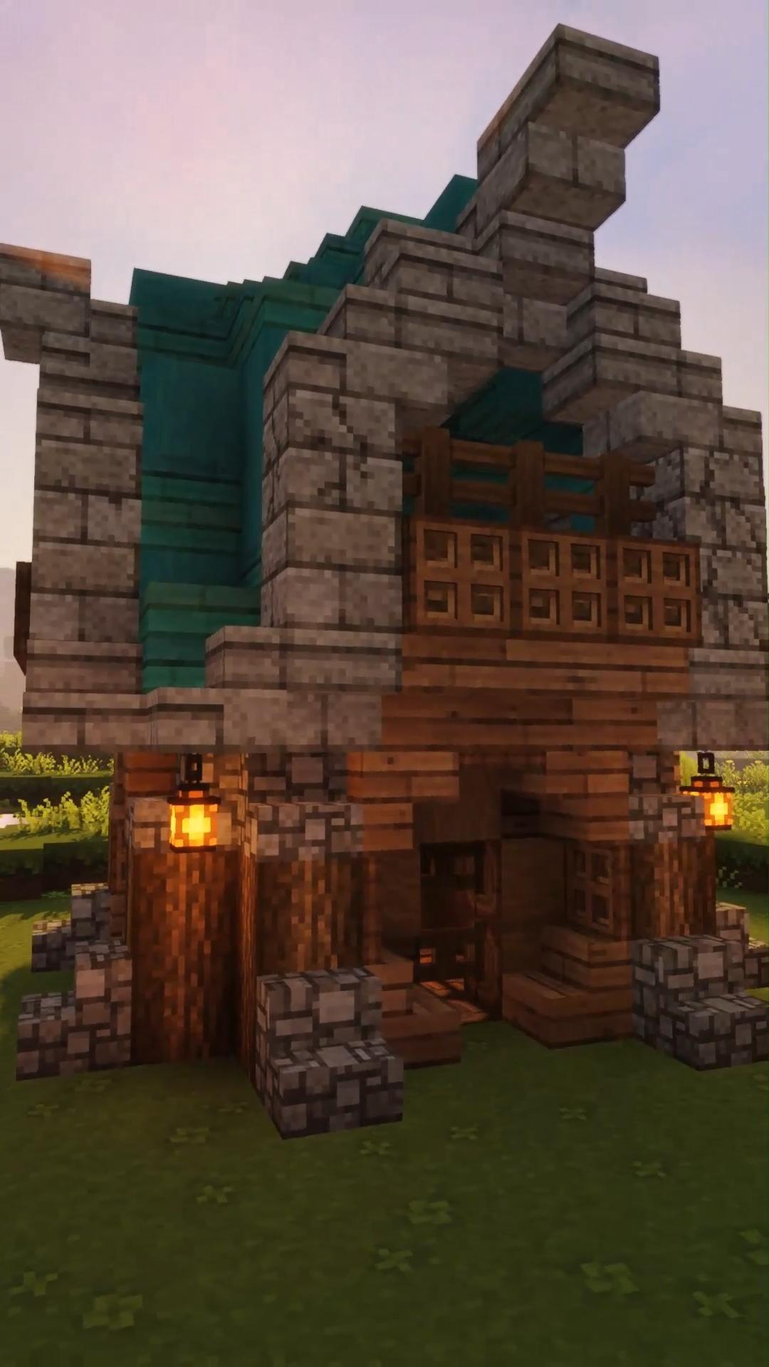 Easy Minecraft Small House Idea