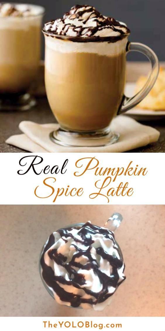Real Pumpkin Spice Latte