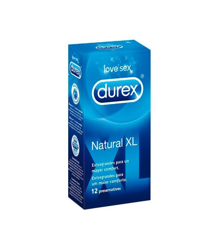 Durex Natural Xl 12 Uds Natural Tiendas Y Fitoterapia