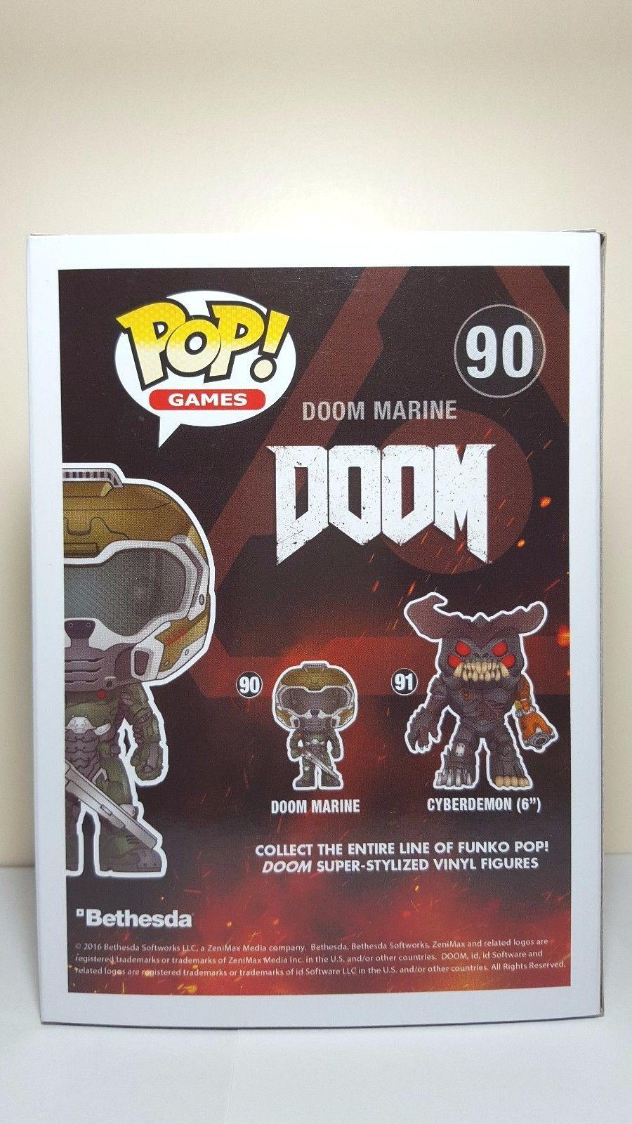 Doom Marine Action Figure