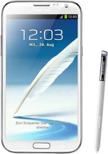 """Samsung Galaxy Note II (7100) - Smartphone libre Android (pantalla 5.5"""", cámara 8 Mp, 16 GB, Quad-Core 1.6 GHz, 2 GB RAM), blanco (importado) B0099LAU56 - http://www.comprartabletas.es/samsung-galaxy-note-ii-7100-smartphone-libre-android-pantalla-5-5-camara-8-mp-16-gb-quad-core-1-6-ghz-2-gb-ram-blanco-importado-b0099lau56.html"""