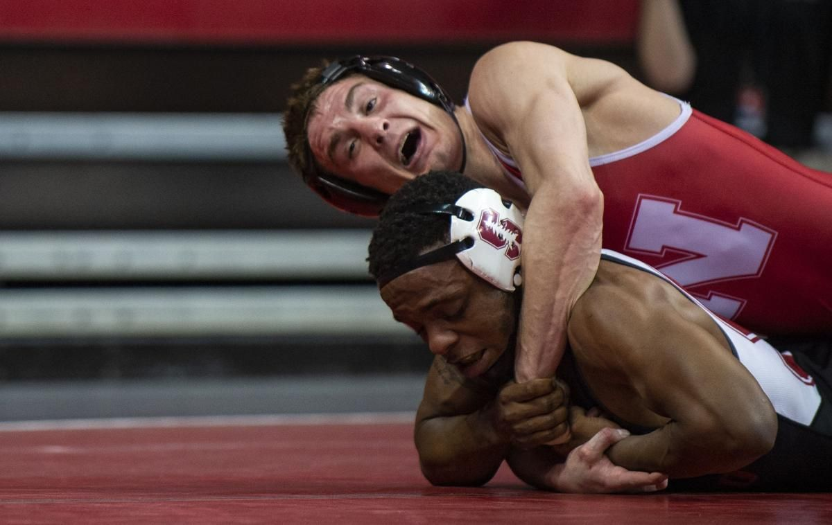 Photos Husker Wrestlers Gear Up For Big Ten Meet With Convincing