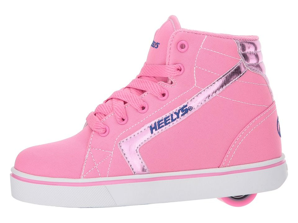 Heelys Propel 2.0 Skate Shoe Little Kid//Big Kid Black Hot Pink
