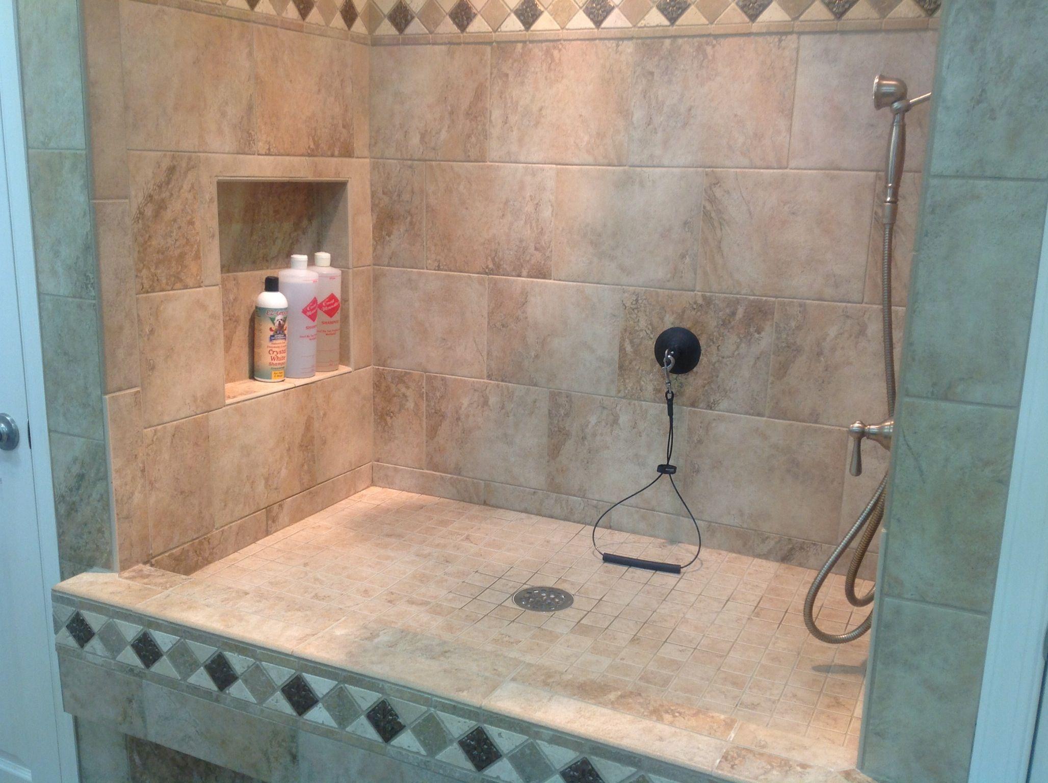 Dog Shower With Shampoo Niche