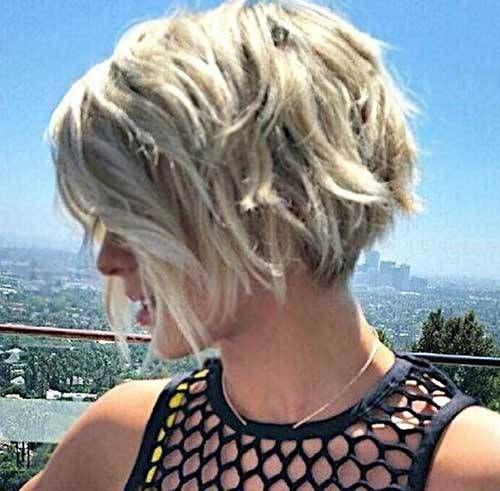 32 kurze frisuren für welliges feines haar 2018 | frisuren