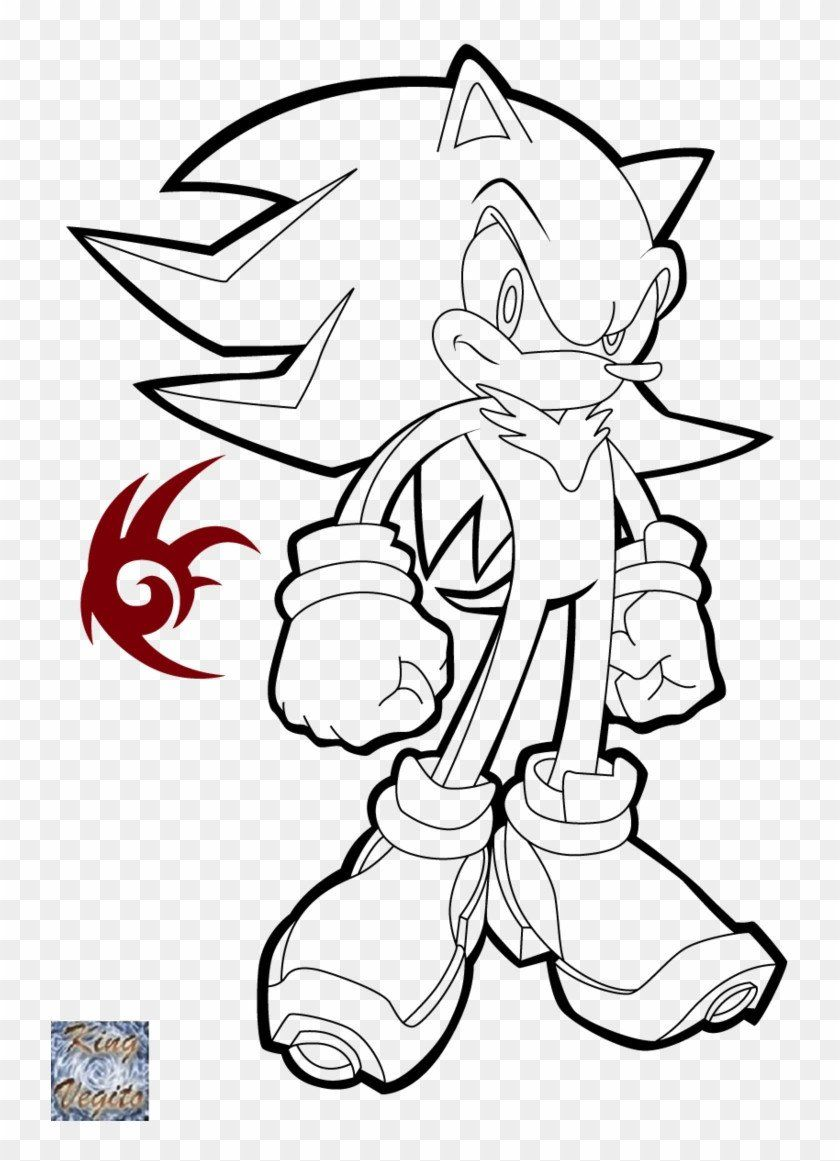Sonic Unleashed Super Sonic Coloring Pages Portraits