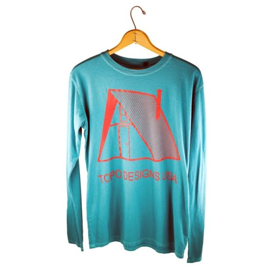 MADE IN USA  A-Frame Shelter Shirt from Topo Designs