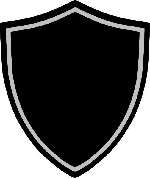 Silver Shield Png Image Gambar Serigala Gambar Desain Logo