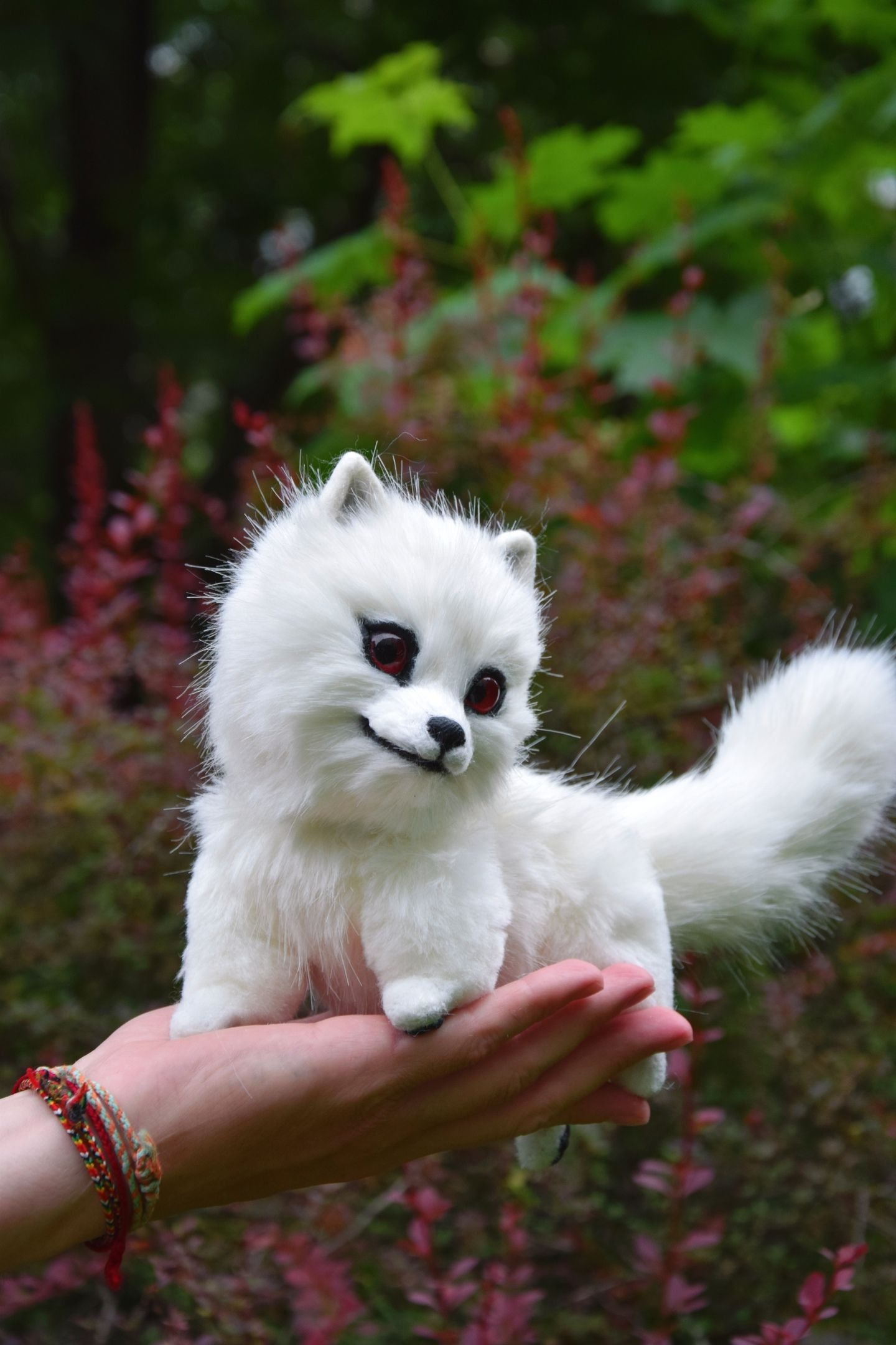 DireWolf Ghost from Game of Thrones Wolf toy Fantasy