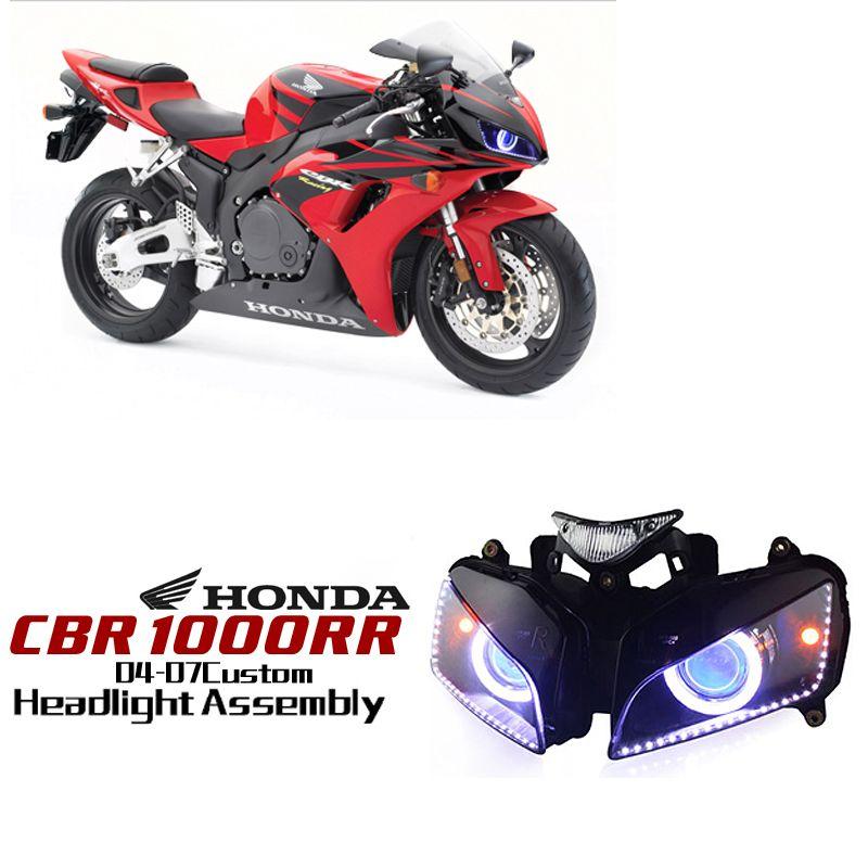 Honda Cbr1000rr 2004 2007 Http Www Ktmotorcycle Com Custom Headlights Honda Custom Headlights Honda Cbr1000rr Honda 1000rr 2 Honda Cbr Honda Honda Cbr 1000rr