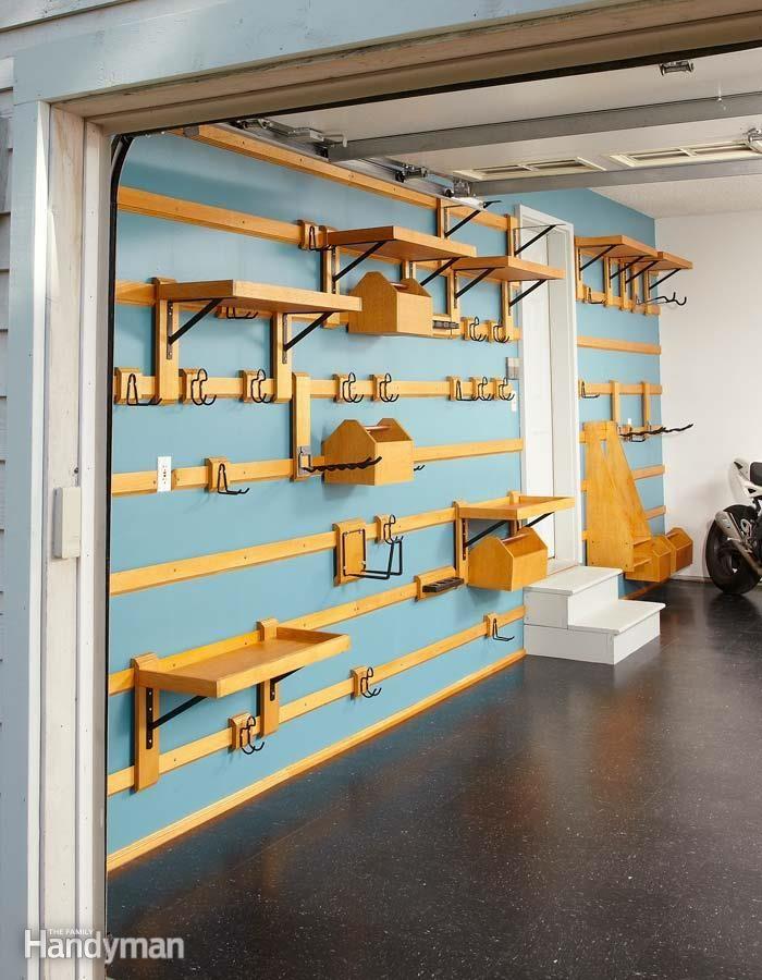 Great Customizable Garage Storage. Garage Storage SystemsGarage OrganizationGarage  Wall ...