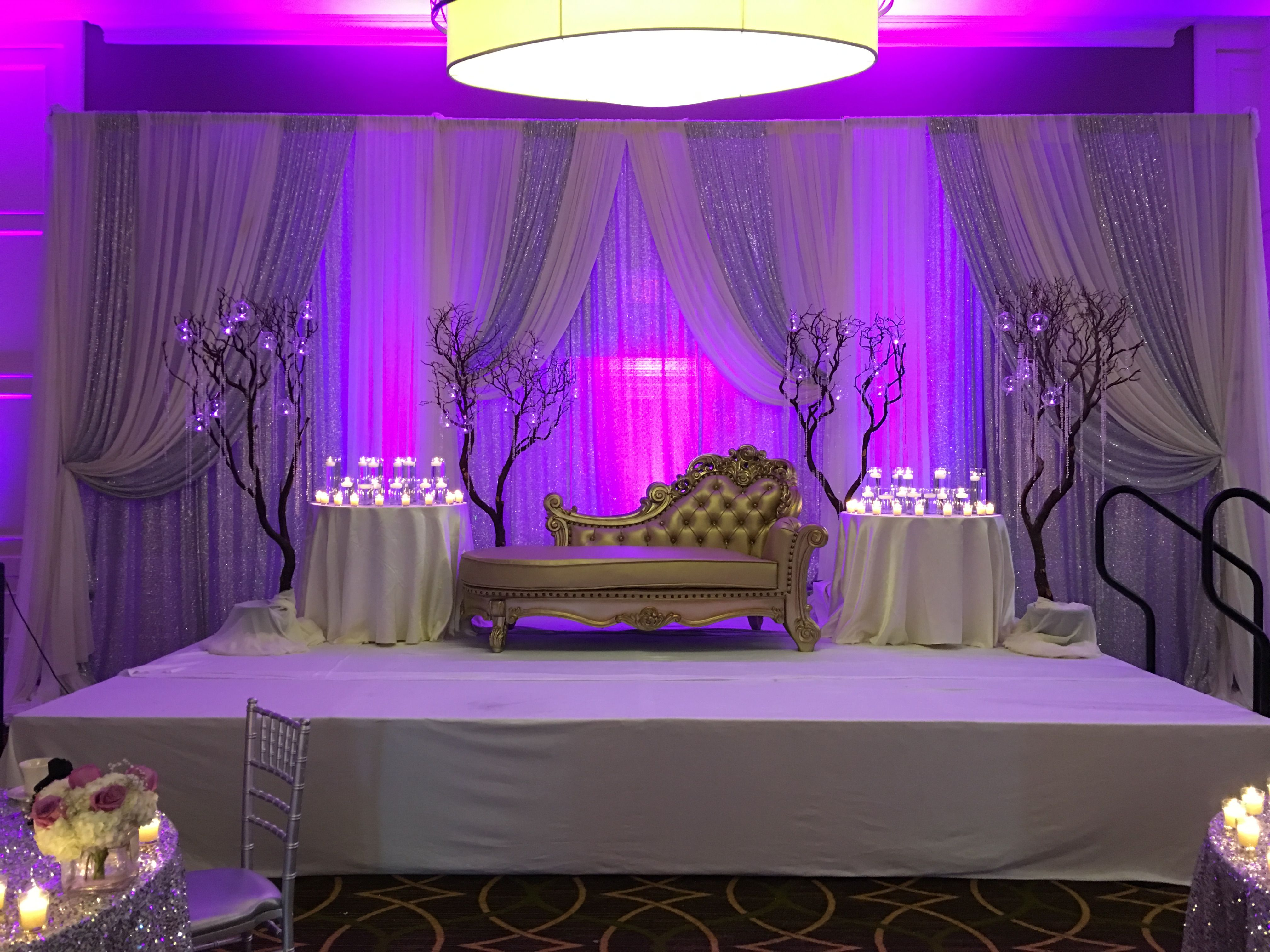 wedding stage decoration pics%0A Backdrop  u     Stage D  cor  indianweddings  indiandecor  indiancaterers   annarborweddings  Sheraton  starwoodhotels