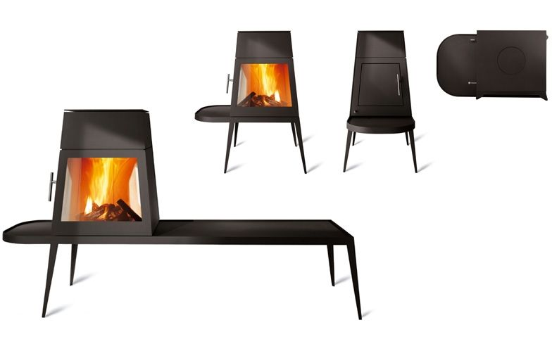 Shaker Fireplace by Skantherm Fireworks Home Interior