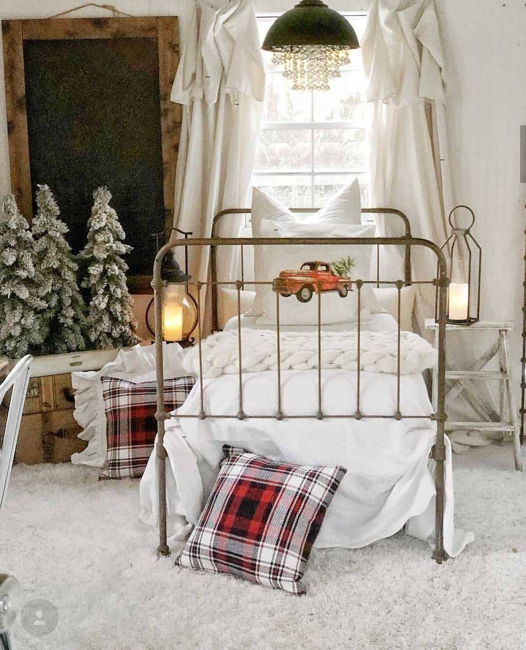 60 mesmerizing christmas bedroom decorating ideas page 60 of 65 rh pinterest com