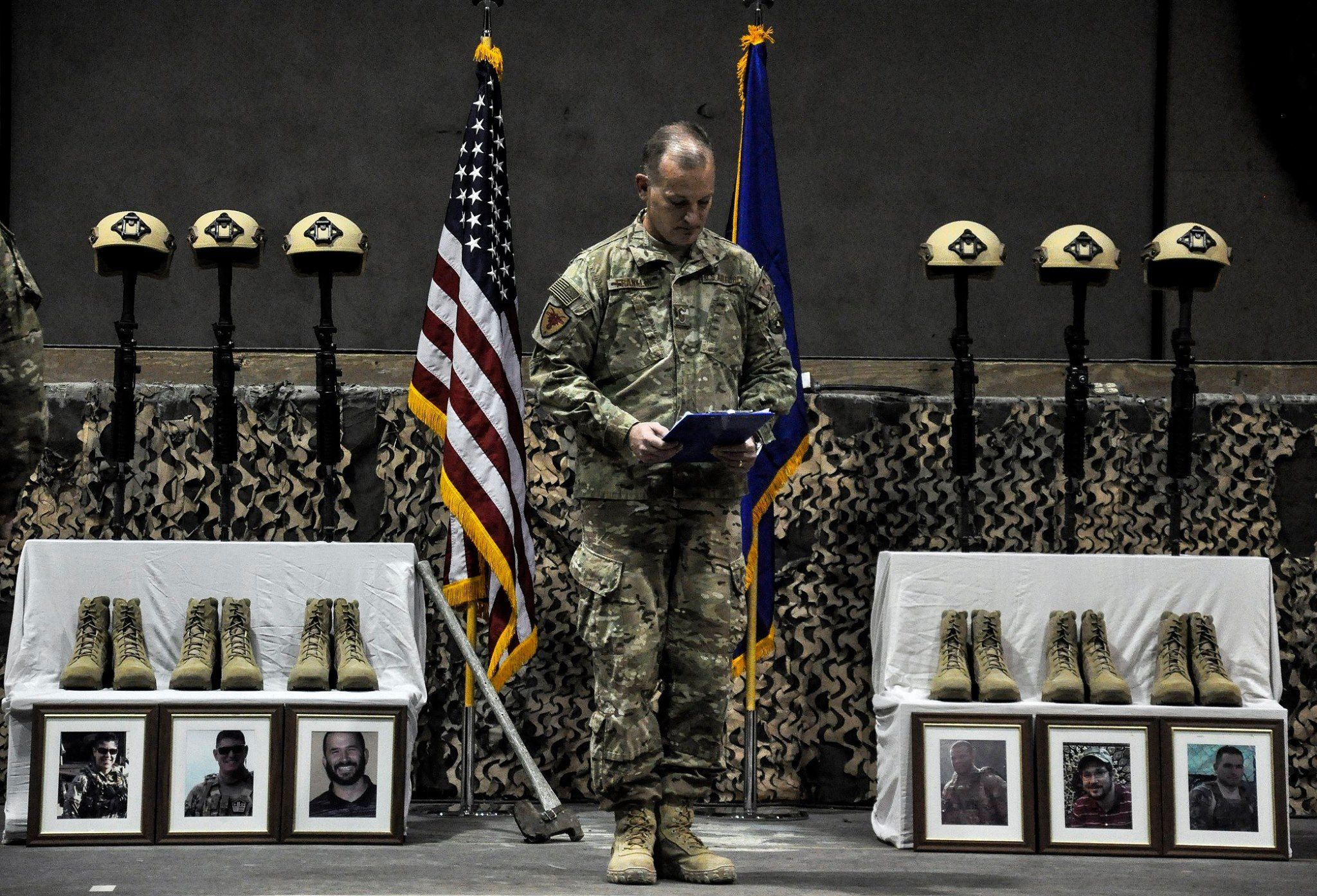 SLIDESHOW: Honoring the Airmen killed in the Afghanistan suicide bombing