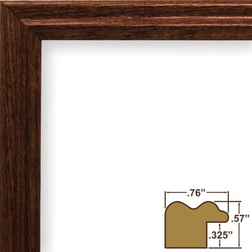 Craig Frames 200ash216 10 By 13inch Picture Frame Wood Grain Finish 75inch Wide Walnut Brown Want To Know Wooden Picture Frames Picture Frames Poster Frame
