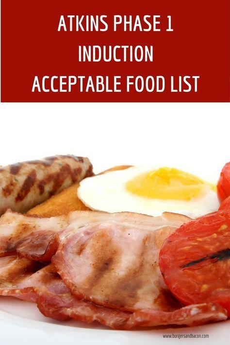 Photo of Atkins Phase 1 Liste der akzeptablen Lebensmittel