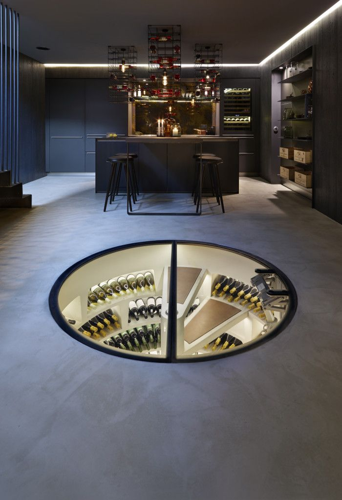 Wine Cellar Design Modern