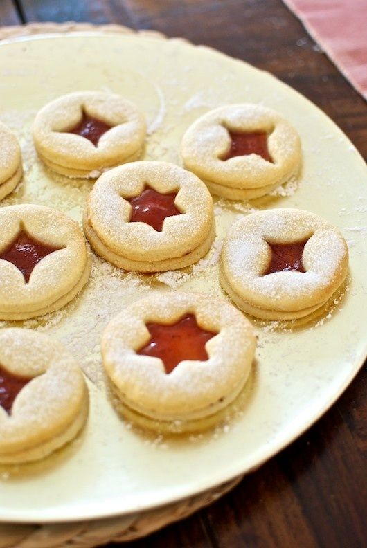 Jam Cookies German Recipe With Thermomix Christmas Thanksgiving