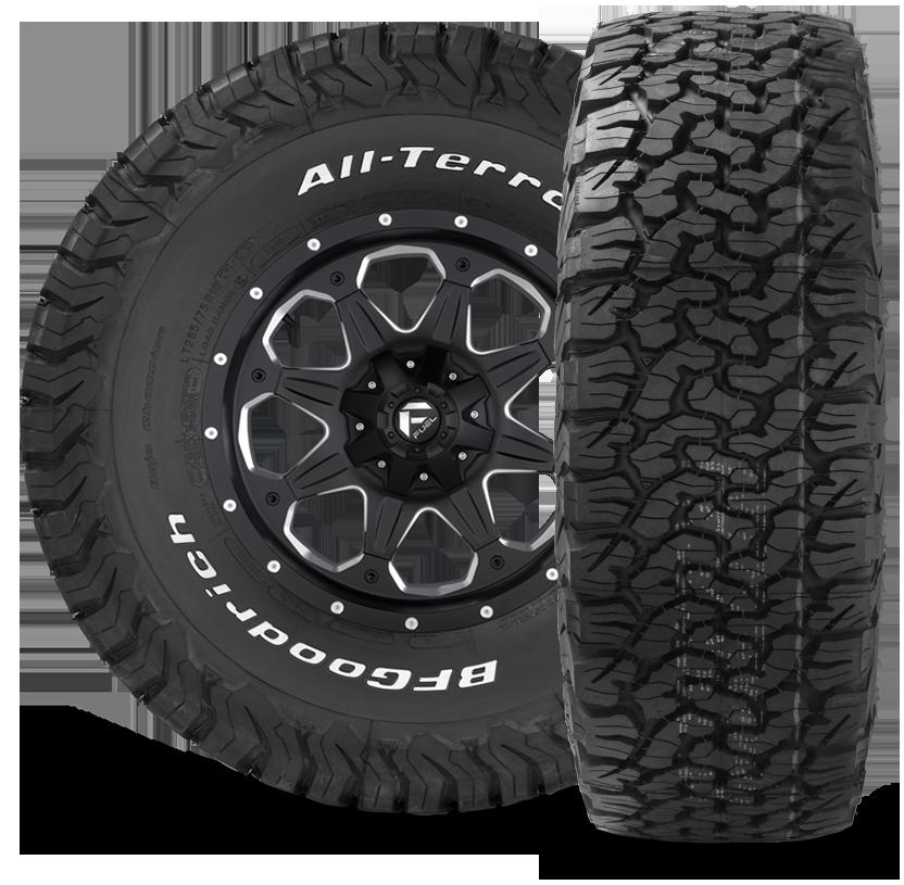 Bf Goodrich All Terrain T A Ko2 Lt215 75r15 Tires Wheels Tires Jeep Wheels Truck Tyres