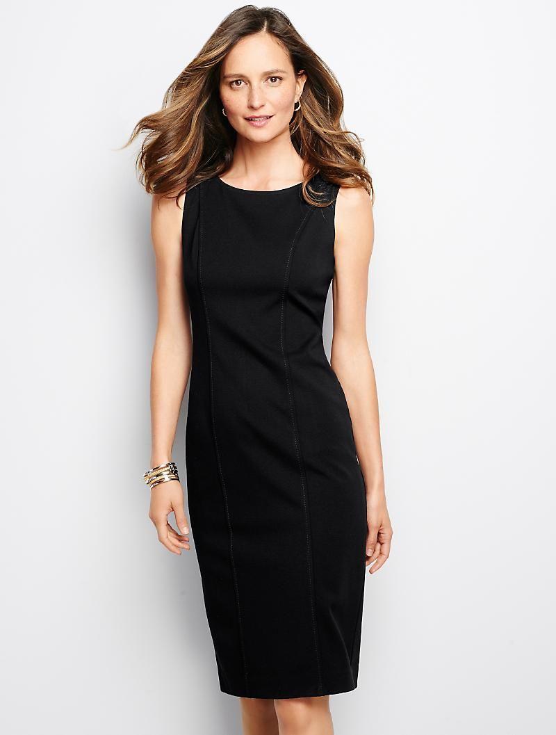 46++ Black sheath dress info