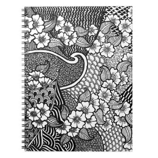 Flower Notebook Notizbuch
