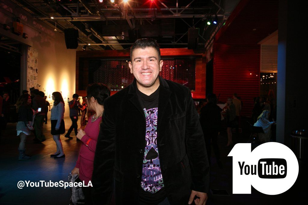 YouTube Space Studios LA 10th Anniversary Party in Los Angeles