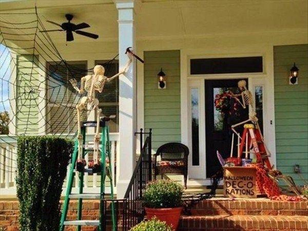 Creative Halloween House Decorations (41 photos) Halloween Ideas - halloween house decorating ideas