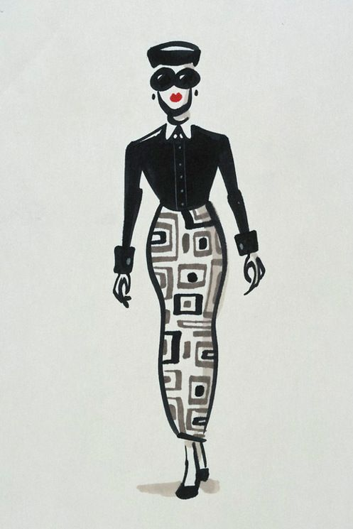 character designs from the incredibles by teddy newton