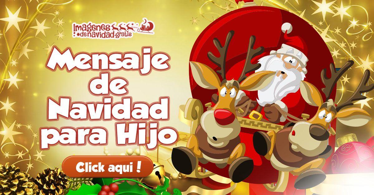 (LO + NUEVO)  Mensaje de Navidad para Hijo ░▒▓██► http://imagenesdenavidad.gratis/mensaje-de-navidad-para-hijo/