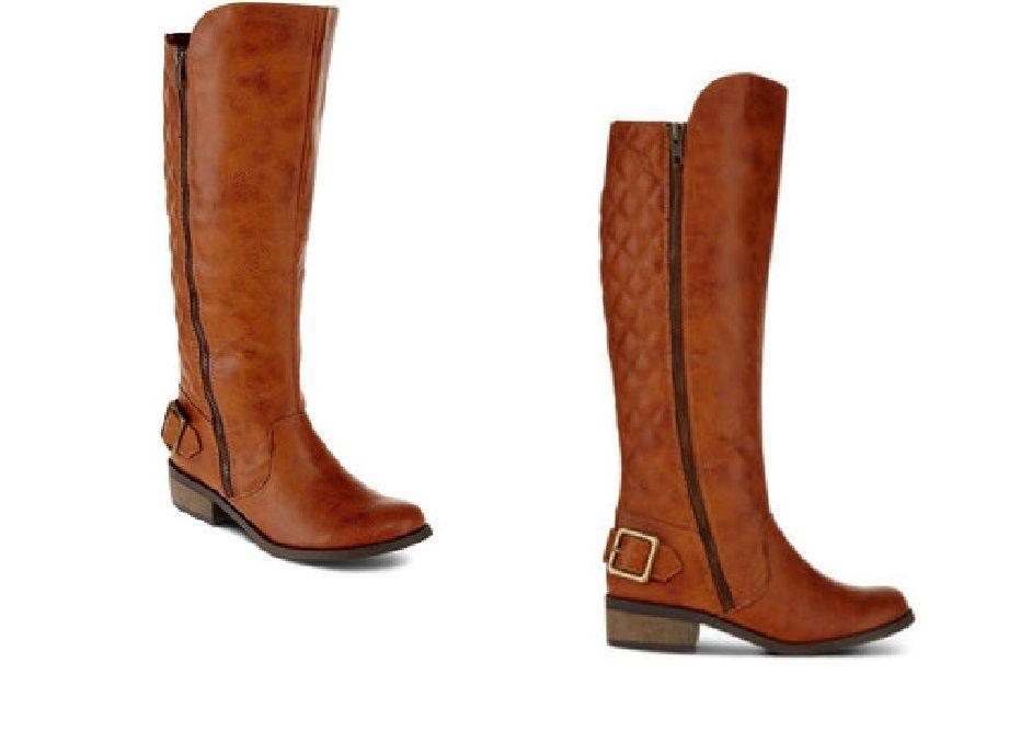 ARIZONA Tall Boots Cody Cognac textured man made Women's size 7 NEW 29.99 http://www.ebay.com/itm/ARIZONA-Tall-Boots-Cody-Cognac-textured-man-made-Womens-size-7-NEW-/331517631821?ssPageName=STRK:MESE:IT